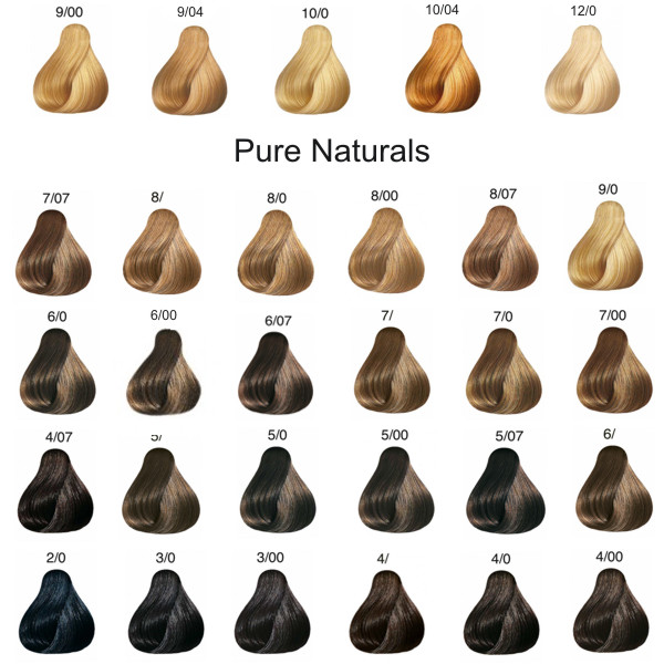 Wella Koleston Pure Naturals